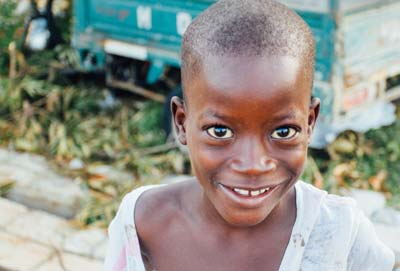 Roadwire Cares - A Boy in Haiti