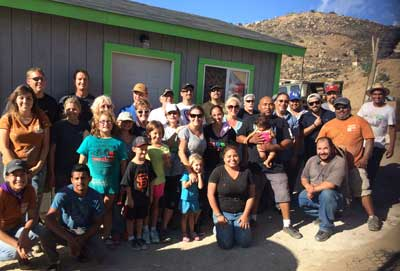Roadwire Cares - Home Building in Tijuana
